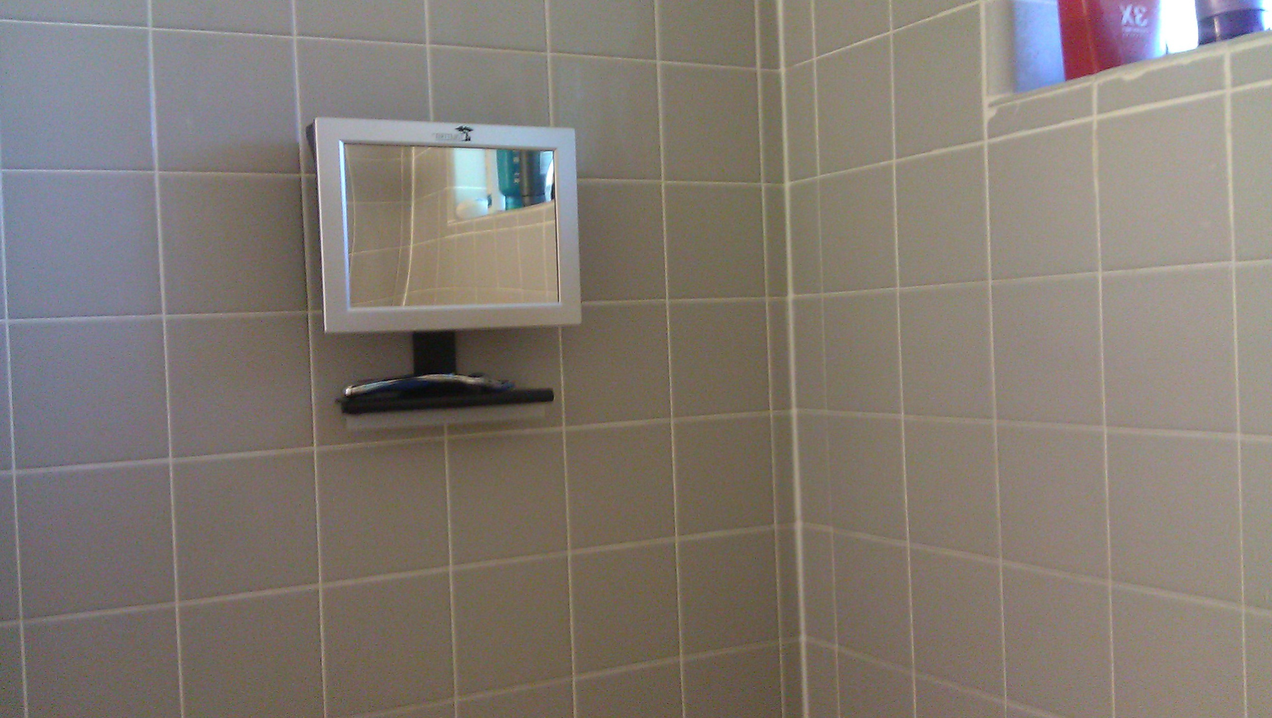 Fog Free Shower Mirror Radio