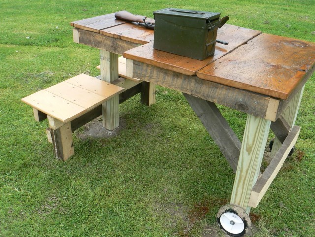 Folding Shooting Bench Plans
