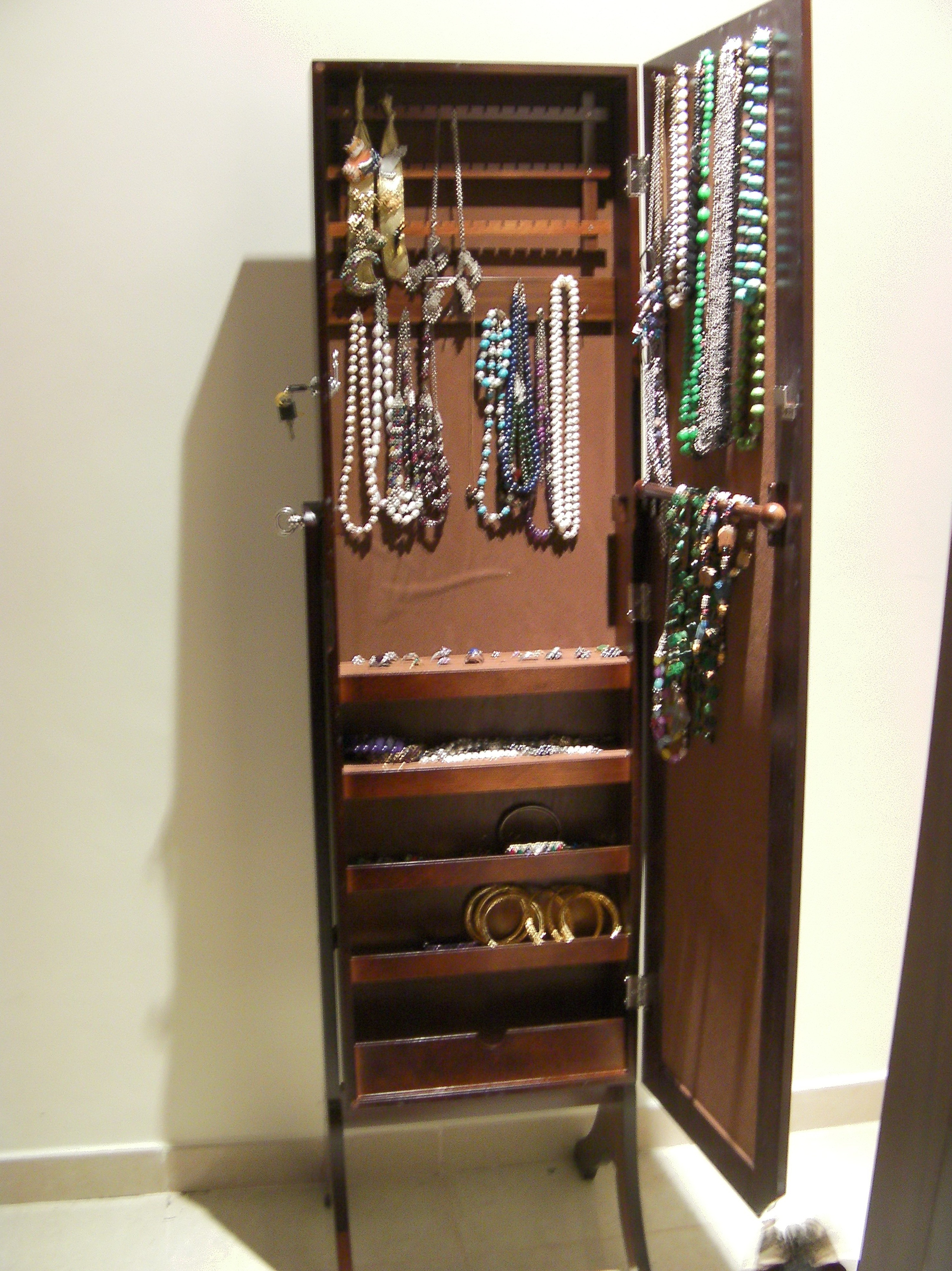 Full Length Mirror With Jewelry Storage Canada