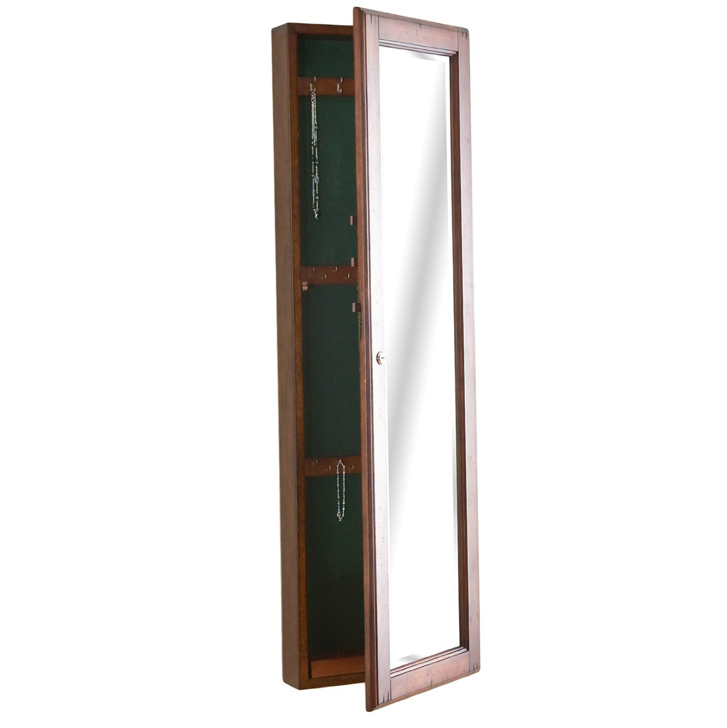 Full length mirror with jewelry storage inside amazon