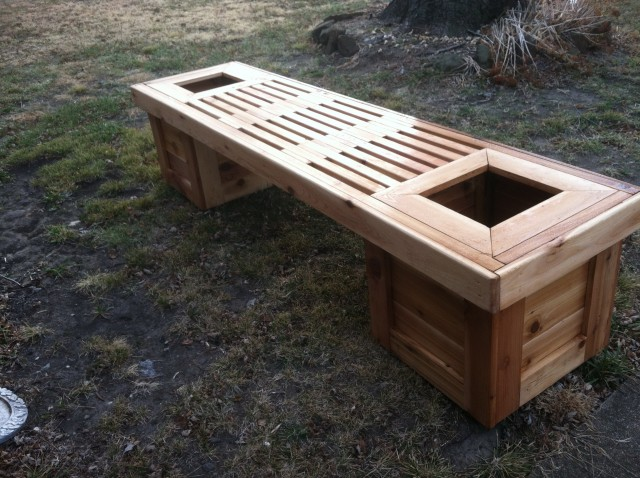 Garden Bench Plans 2x4