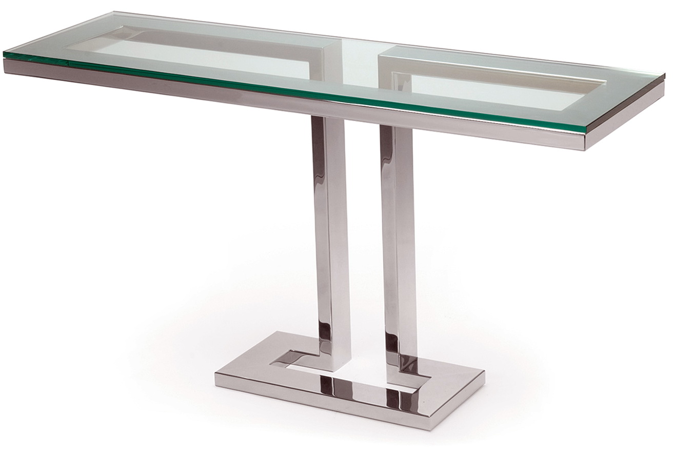 Glass Console Tables Contemporary Home Design Ideas