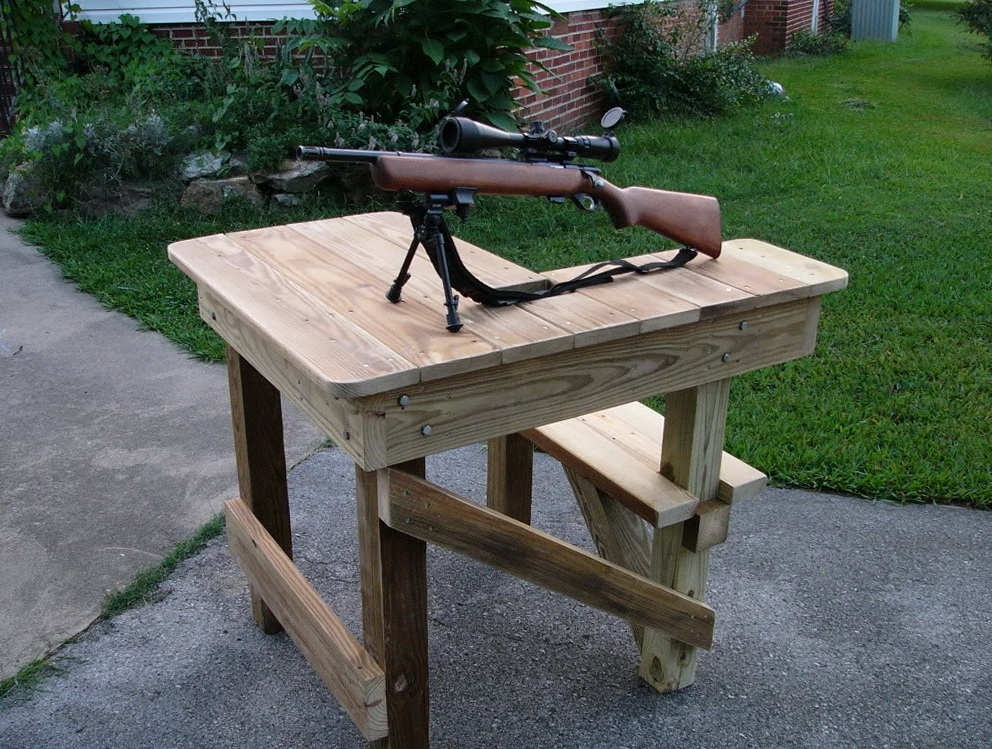 Plans To Build A Shooting Bench 28 Images Diy Shooting