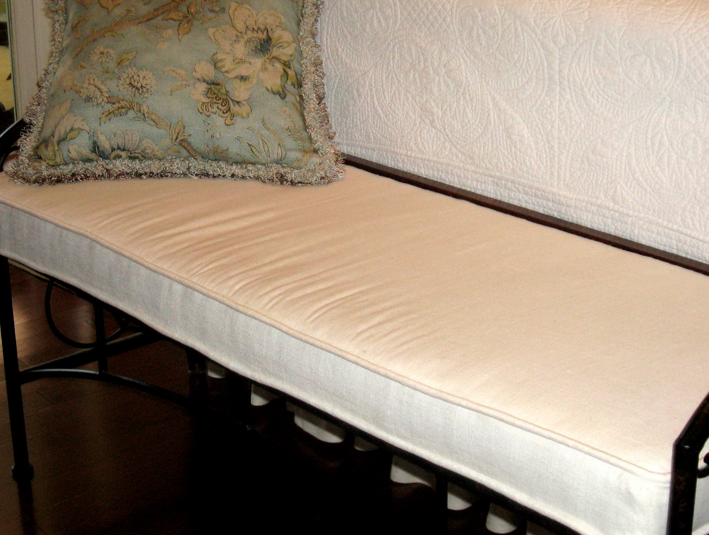 Indoor Bench Seat Cushions Home Design Ideas