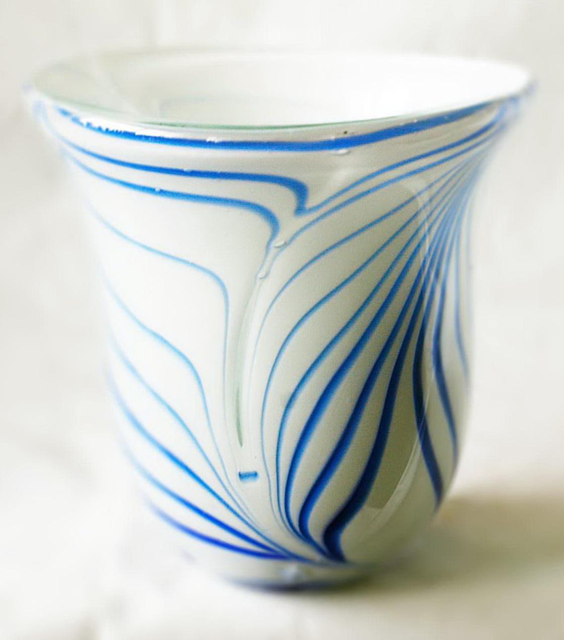 Italian Hand Blown Glass Vases