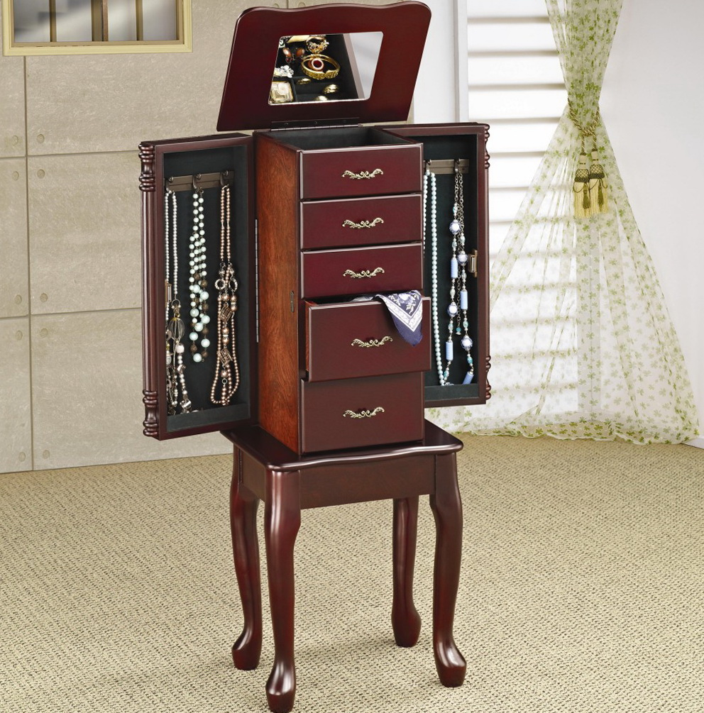 Jewelry Mirror Armoire Canada