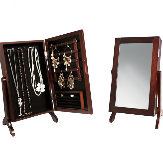 Jewelry Mirror Armoire Kirklands
