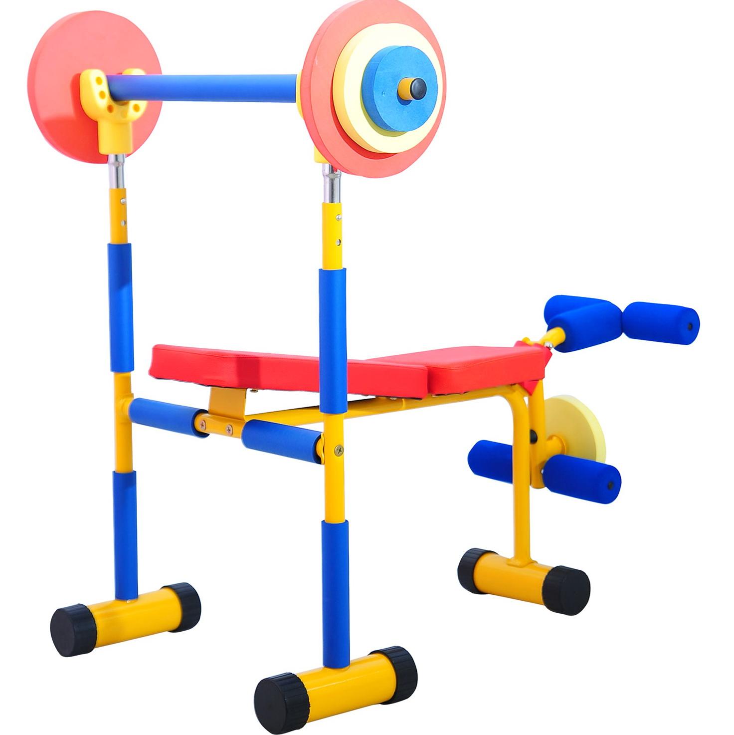 Kids Weight Bench Set