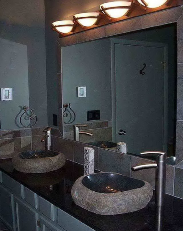 Large Bathroom Mirror With Lights