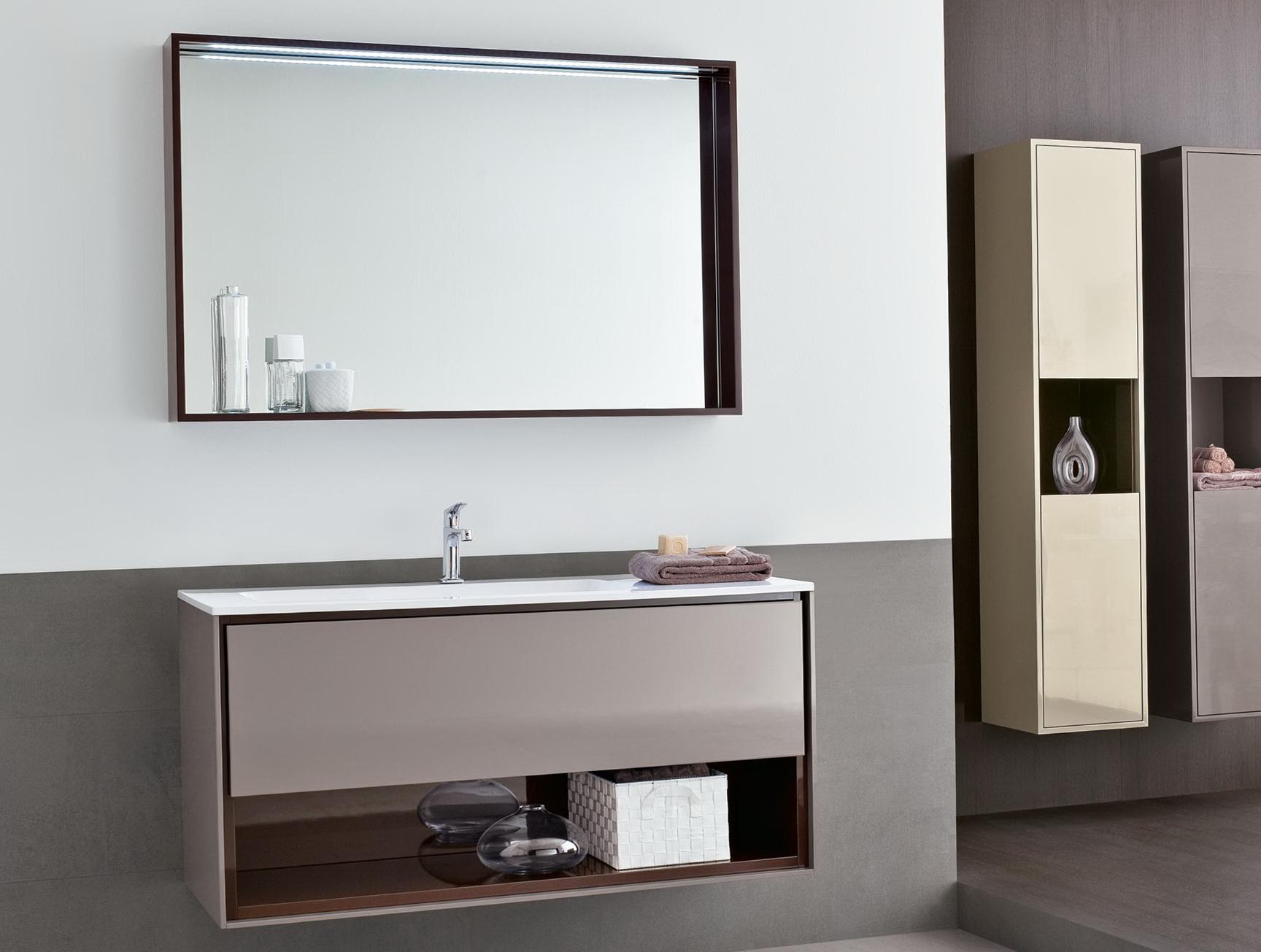 Large Bathroom Mirror With Storage