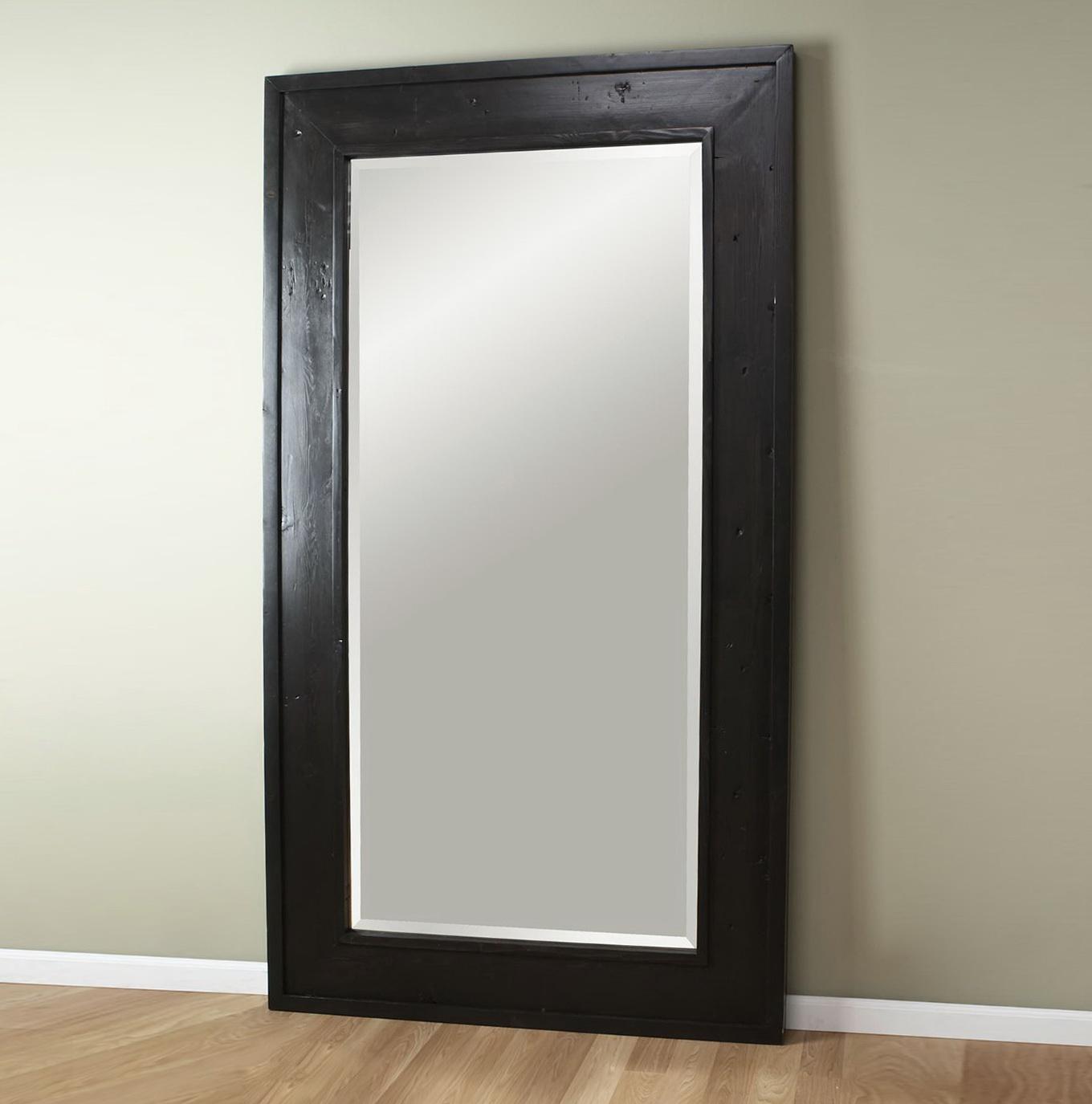 Large Leaning Floor Mirror