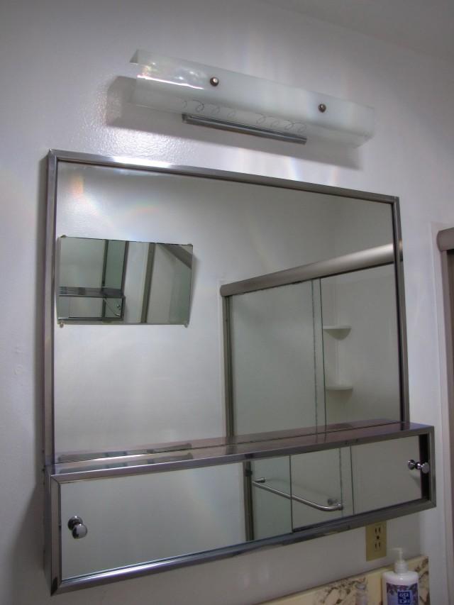 Large Mirror Medicine Cabinet
