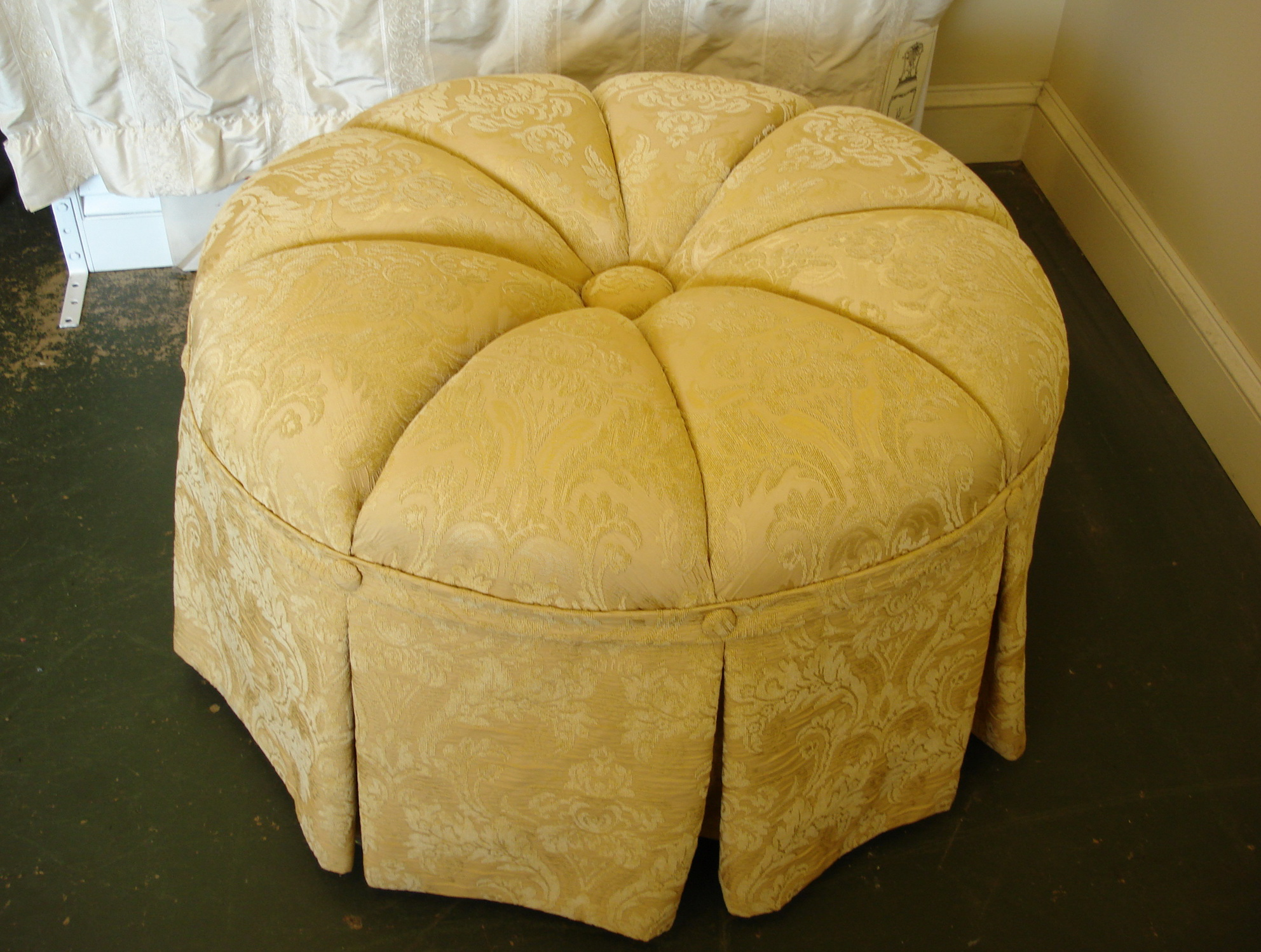 Large Round Ottoman Covers Home Design Ideas