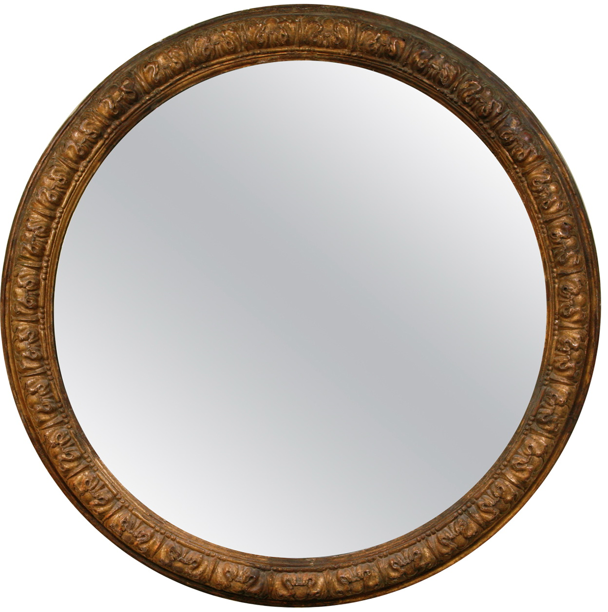 Large round wall mirror home design ideas for Big circle mirror