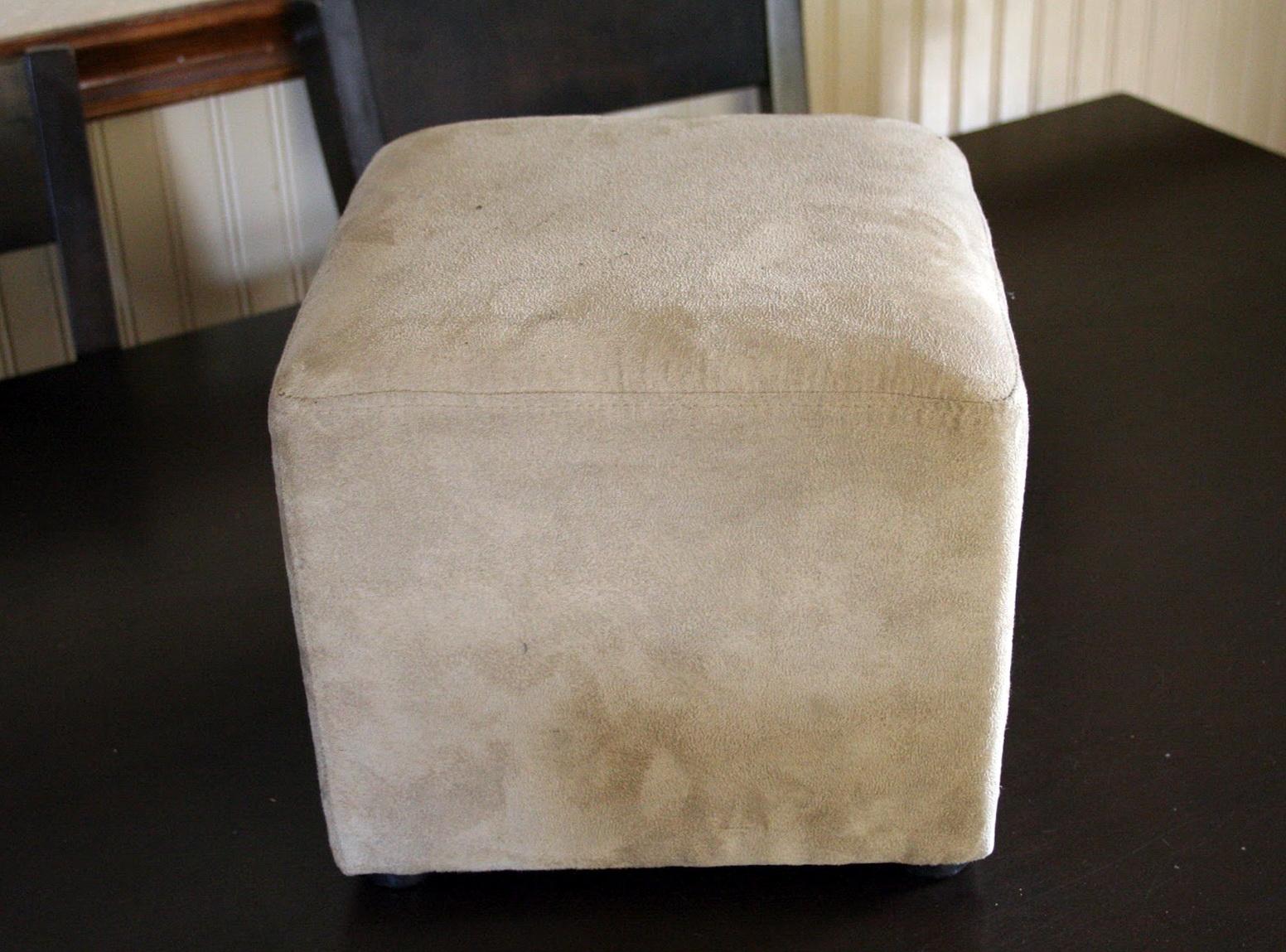 Large Square Ottoman Slipcover