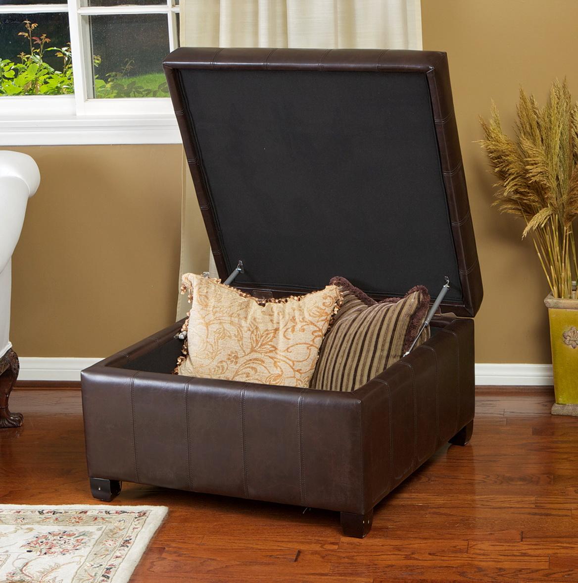Leather Ottoman With Storage Costco Home Design Ideas