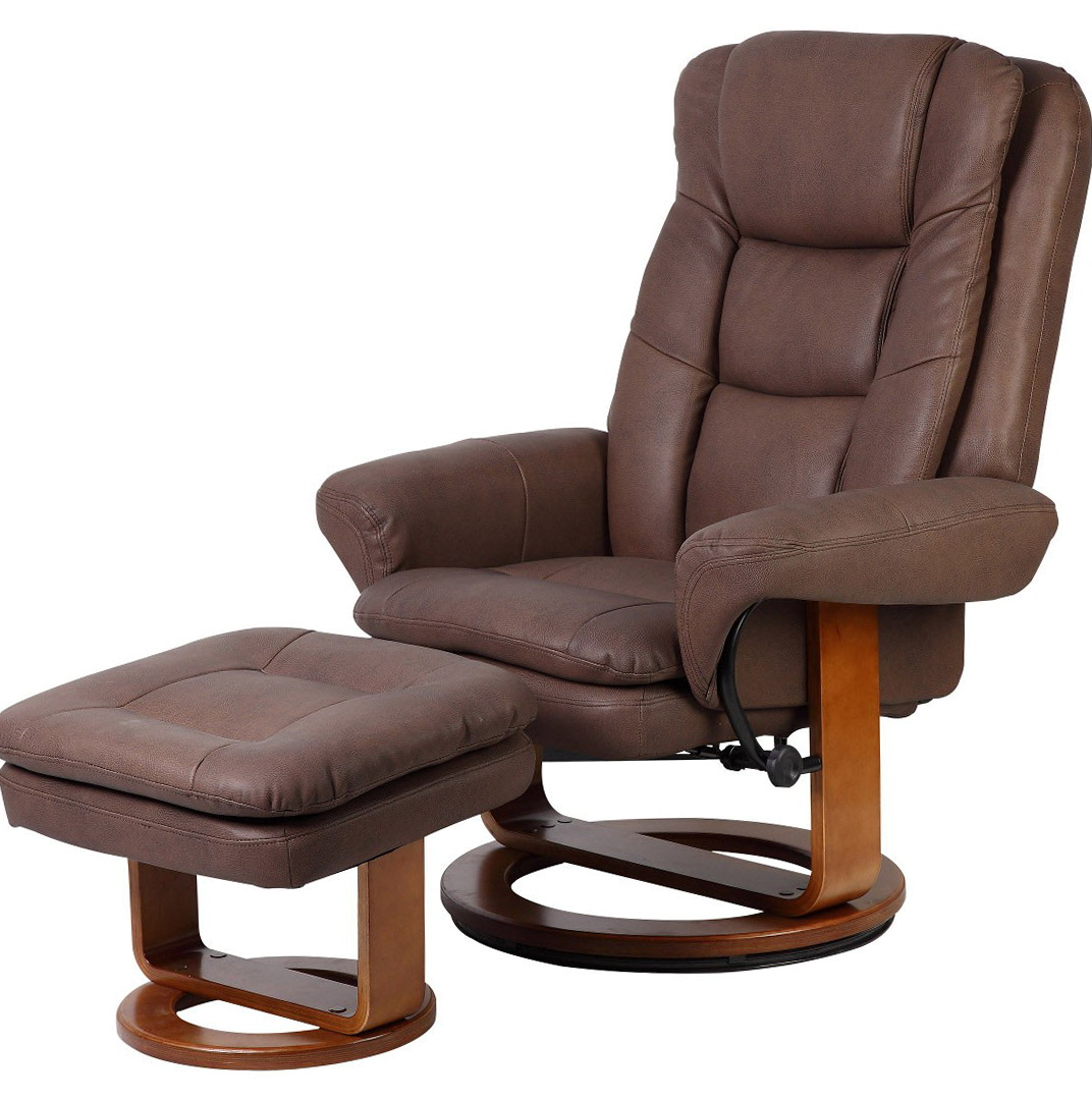 Leather Recliner With Ottoman Sale