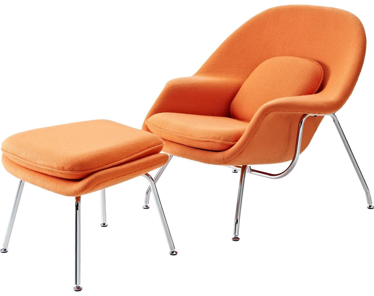 Lounge Chair And Ottoman Set