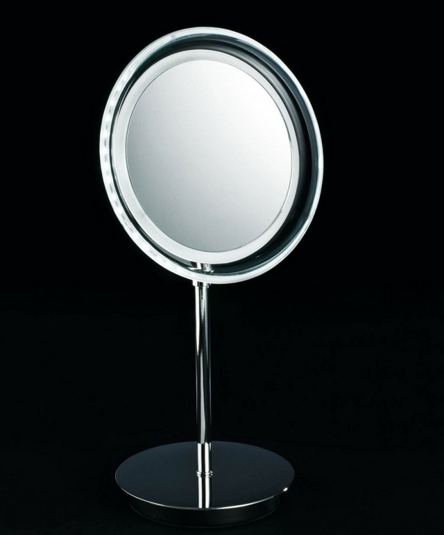 Magnifying Mirror With Light Target Home Design Ideas