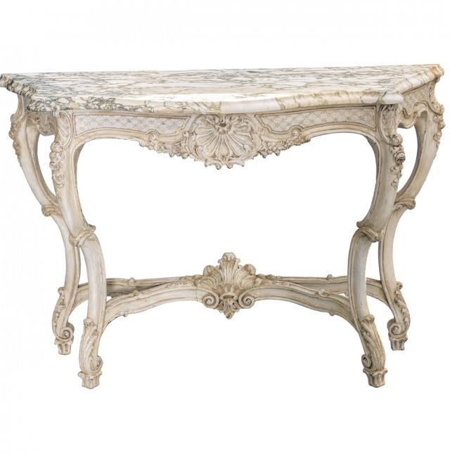 Marble Console Table French