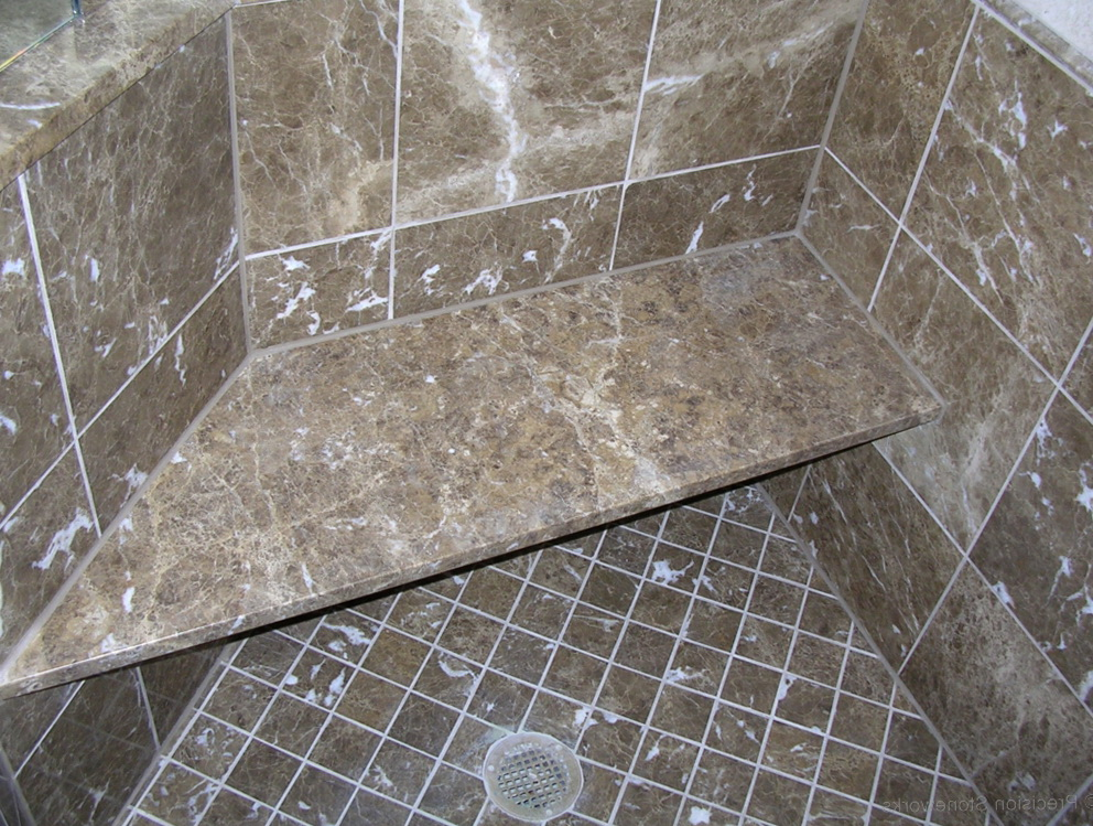 Marble Shower Bench Seat