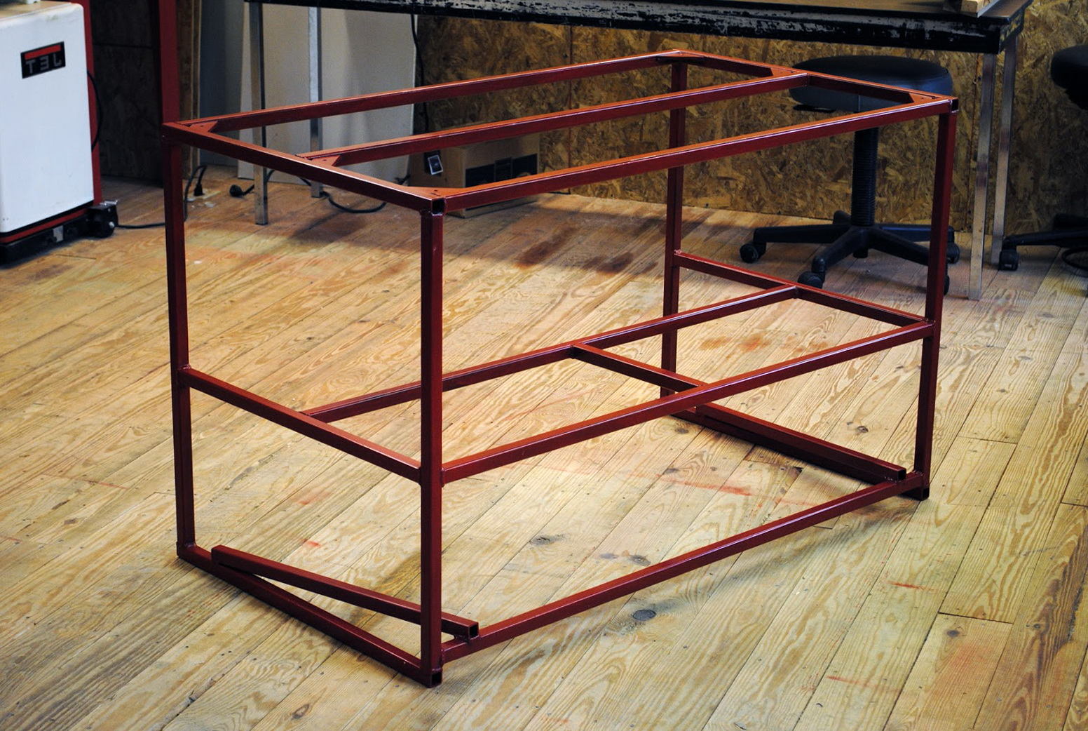 Metal Work Bench Plans