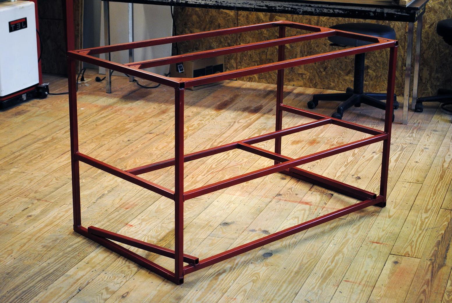 Metal Work Bench Plans