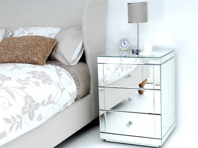 Mirrored Bedside Tables Nz