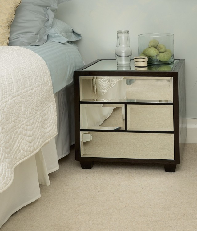 Mirrored Bedside Tables Uk