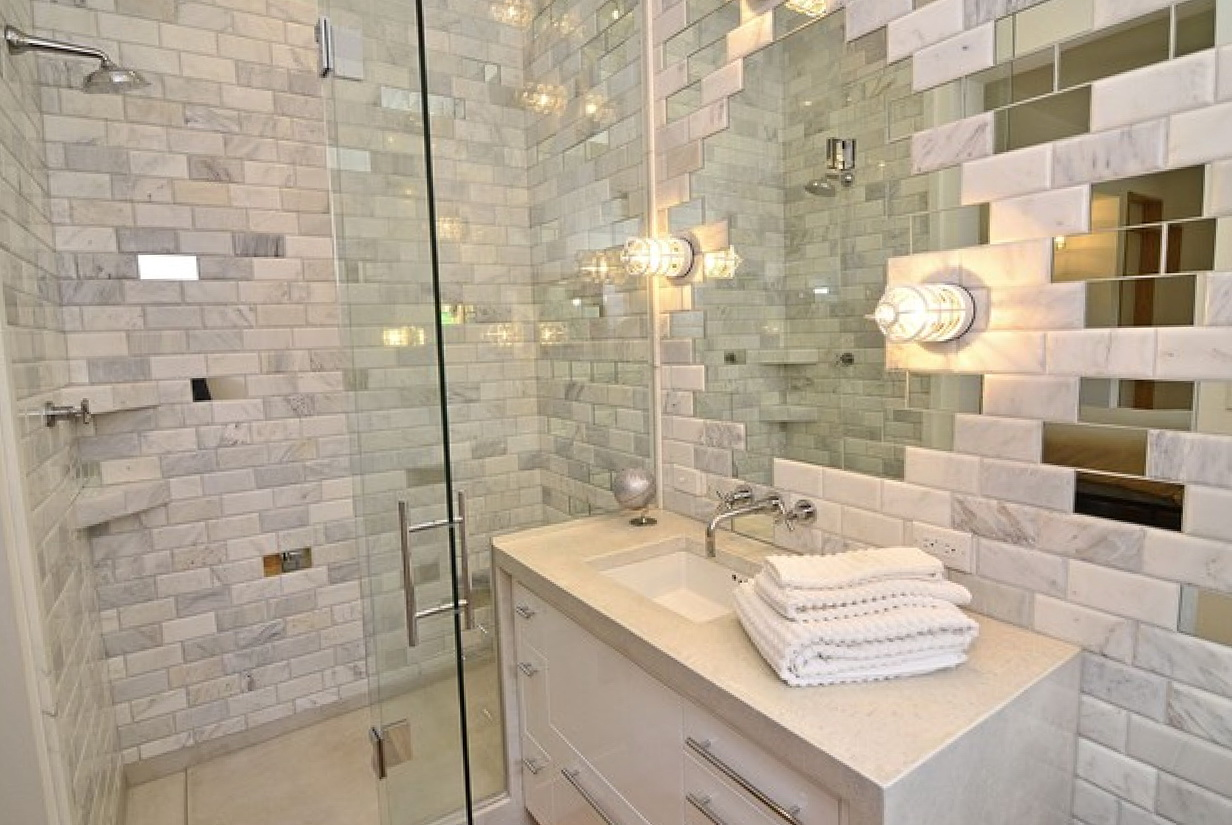 Mirrored Subway Tiles Uk Home Design Ideas