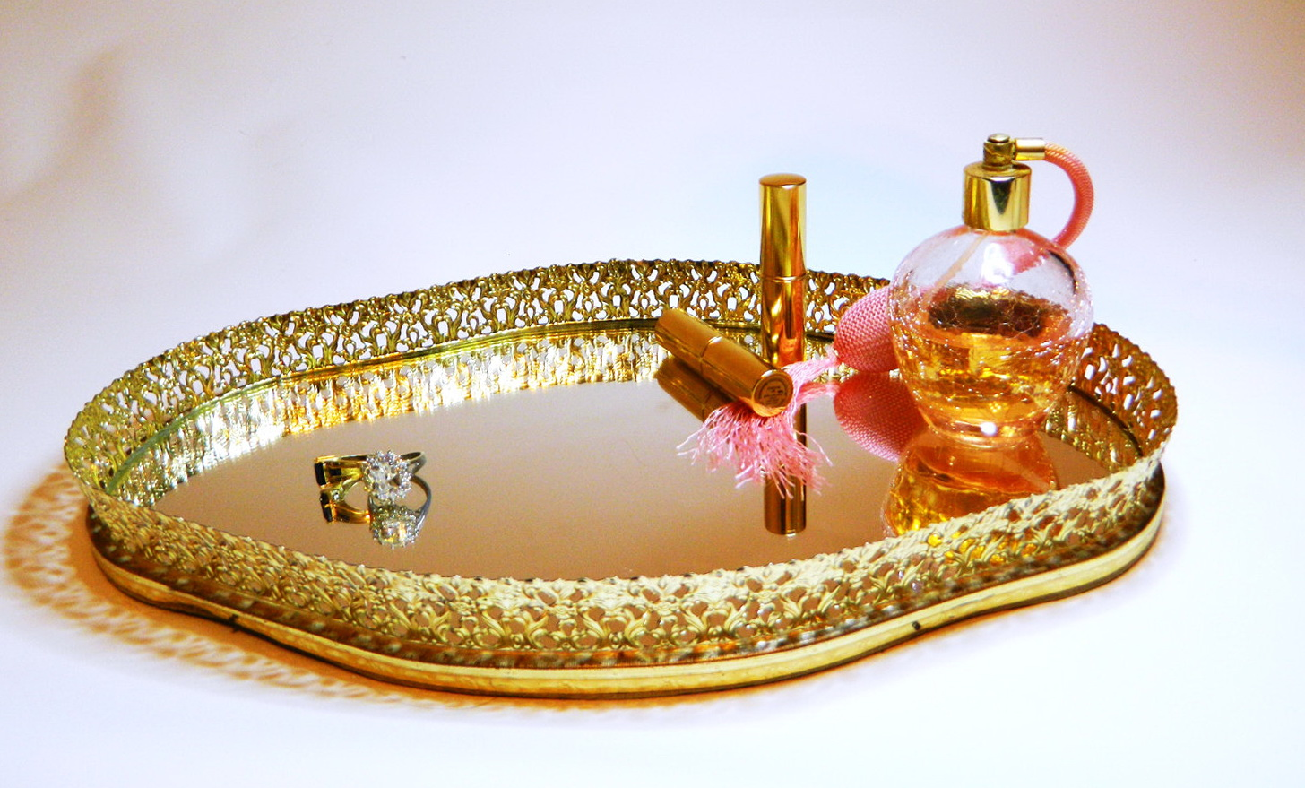 Mirrored Vanity Tray Target Home Design Ideas