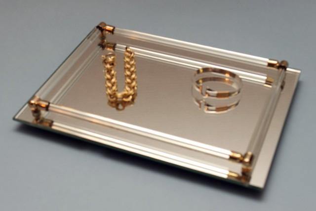 Mirrored Vanity Tray Uk