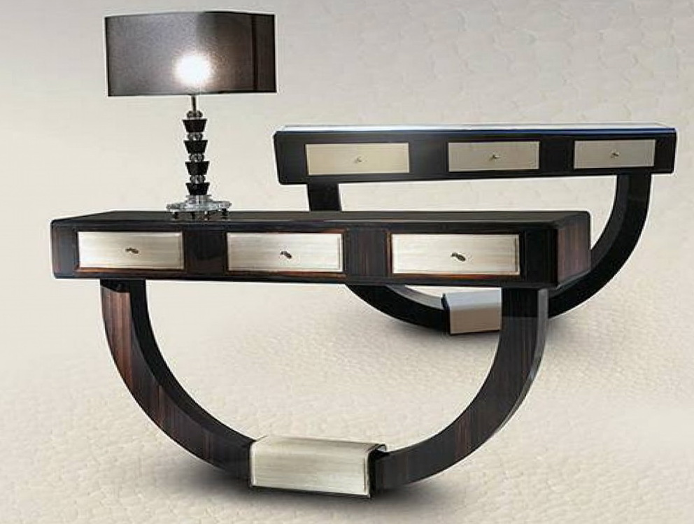 modern console table design home design ideas. Black Bedroom Furniture Sets. Home Design Ideas