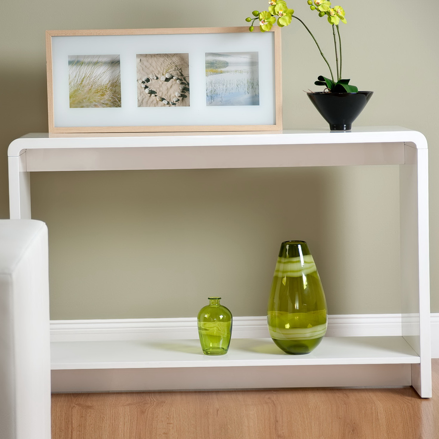 Modern Console Tables White