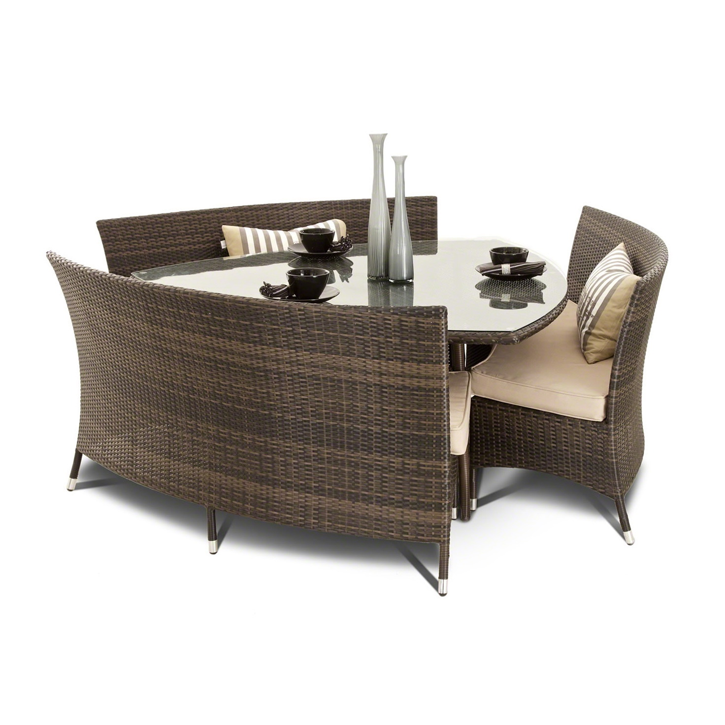 Modern Dining Set With Bench