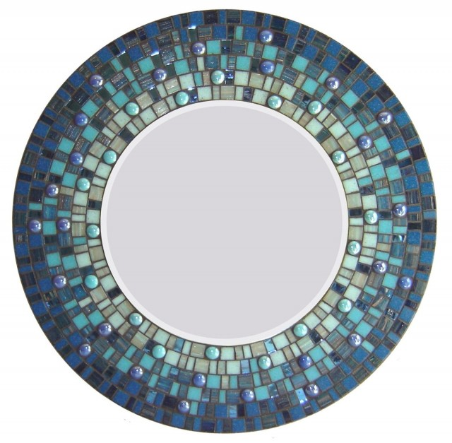Mosaic Mirror Wall Art