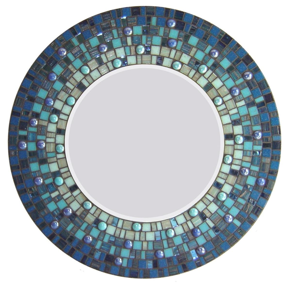 Mosaic Mirror Wall Art