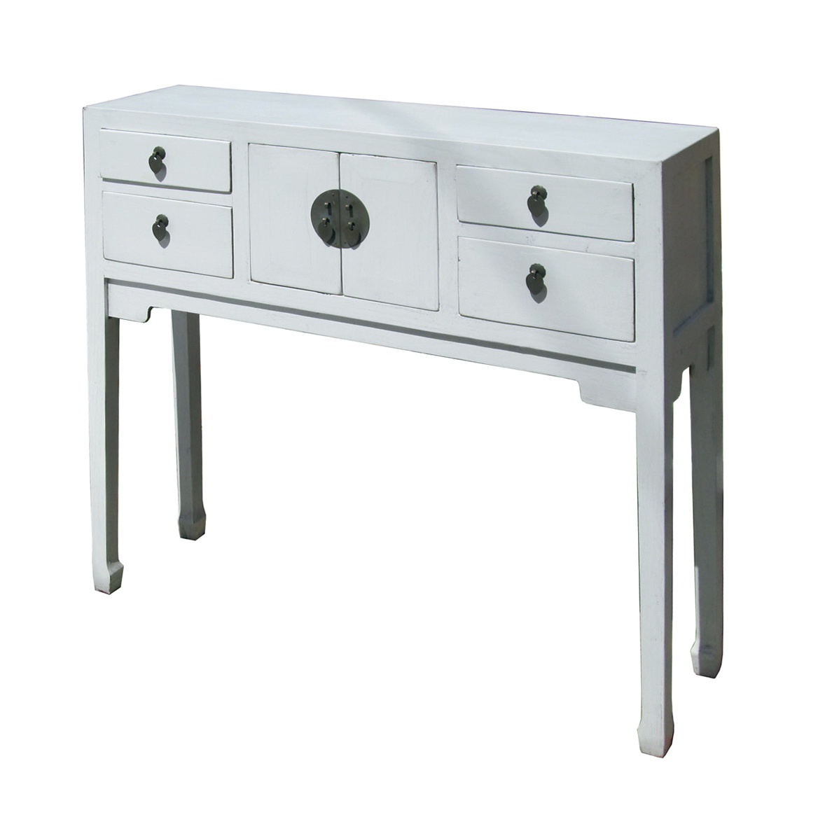 Narrow Console Table White