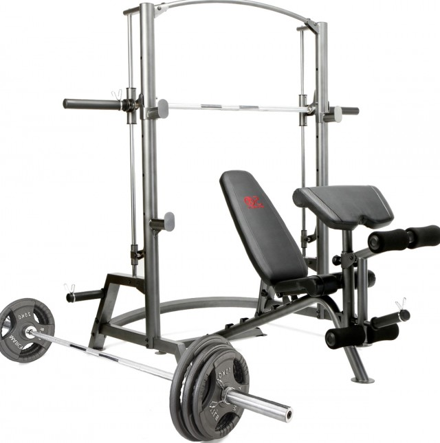 Olympic Weight Bench Set