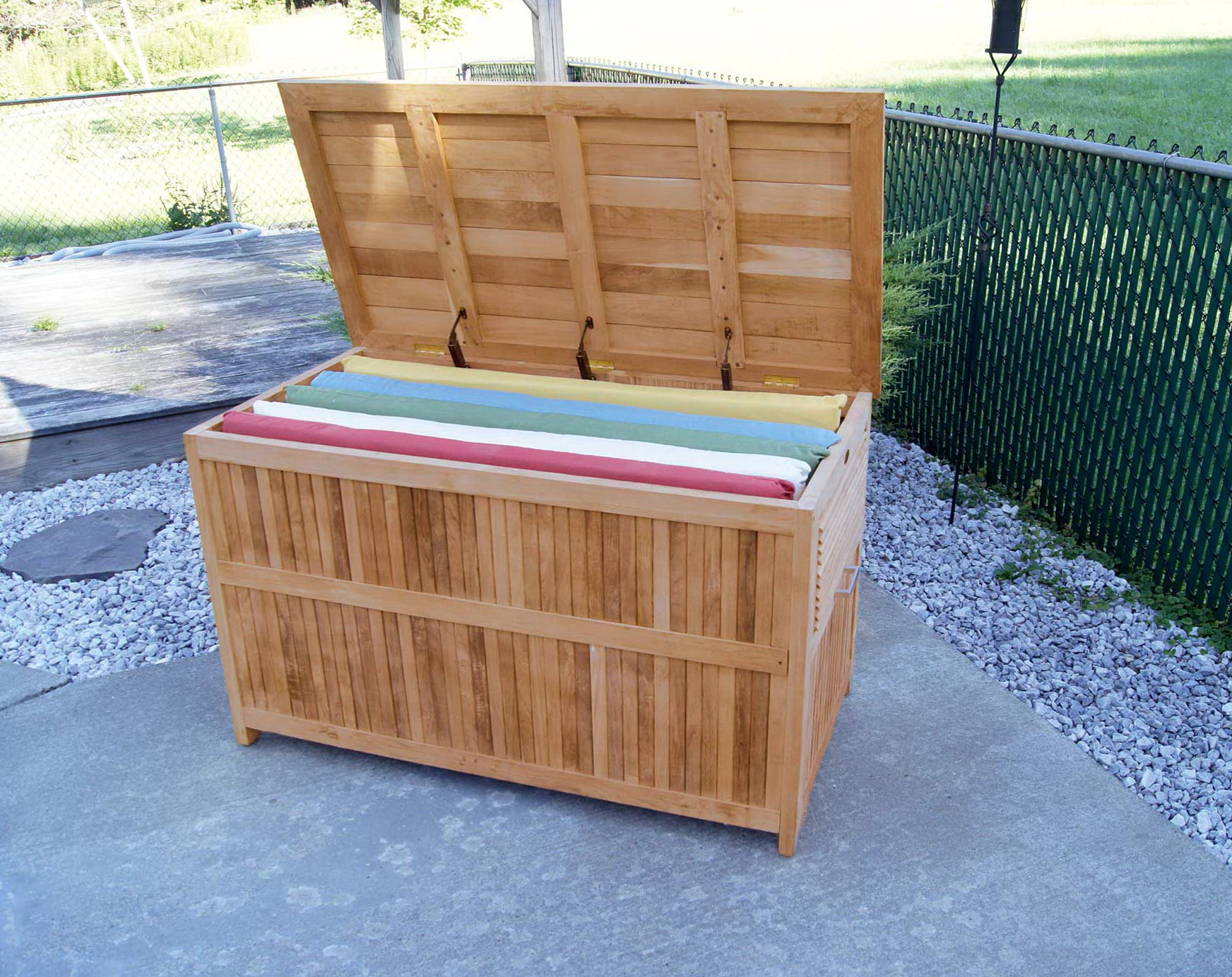 Outdoor Storage Bench Plans Free