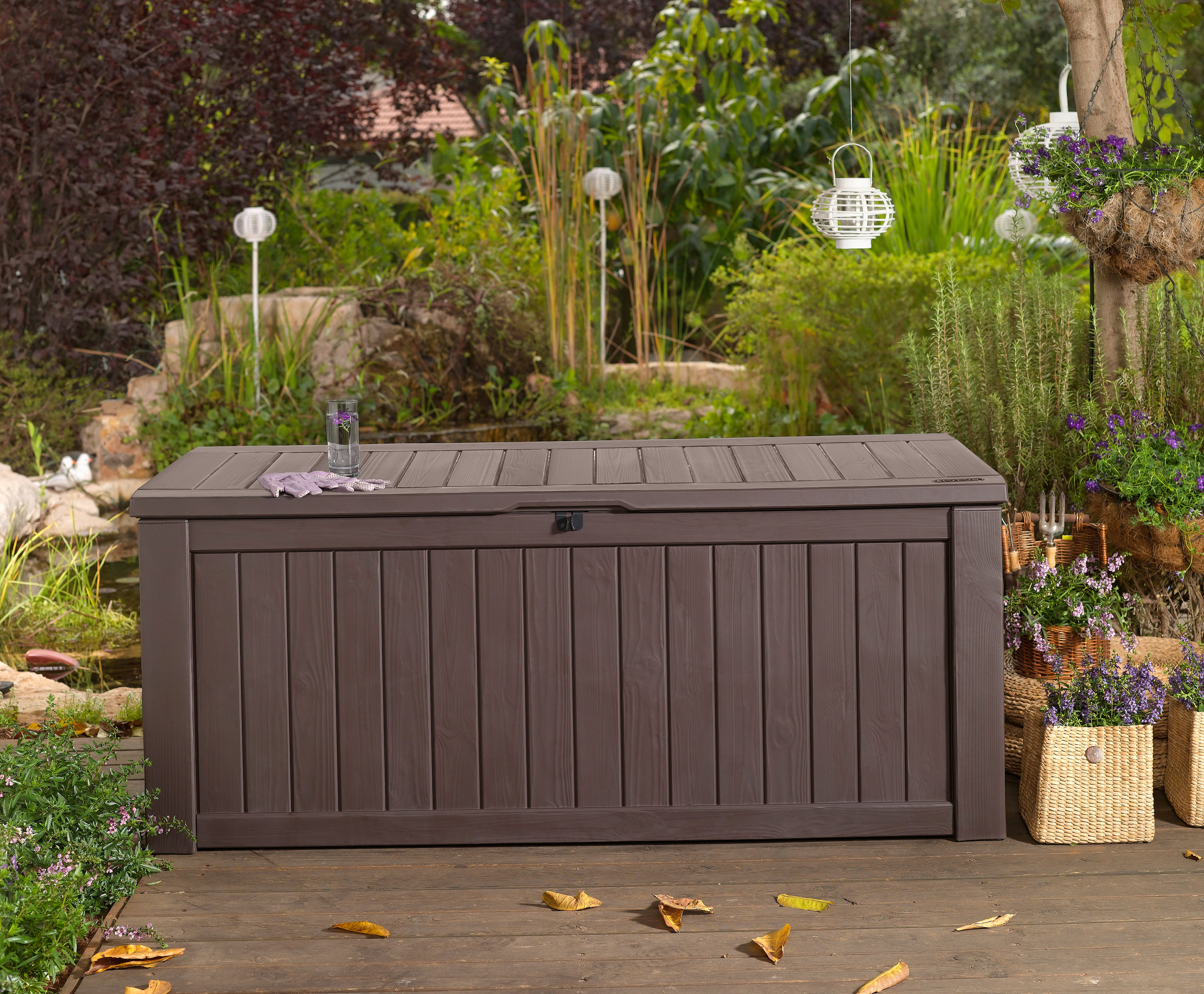 Outdoor Storage Bench Waterproof Home Design Ideas