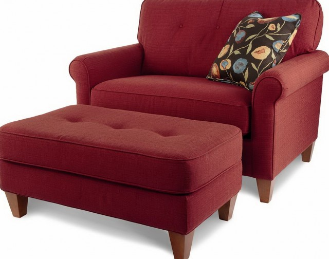 Oversized Chairs And Ottomans