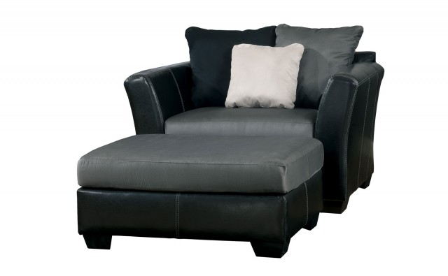 Oversized Recliner With Ottoman