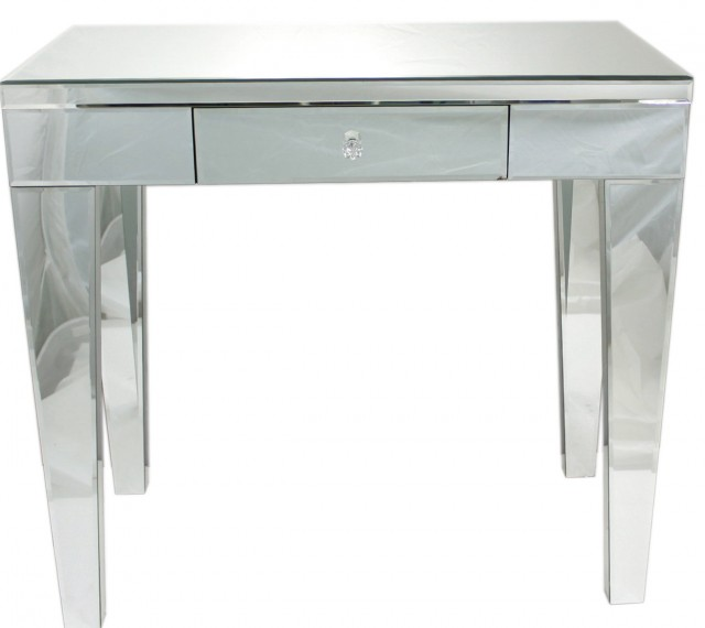 Park Mirrored Bedside Table