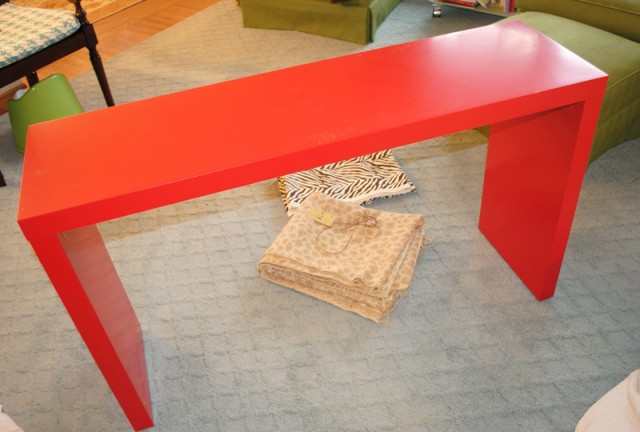 Parsons Console Table Ikea