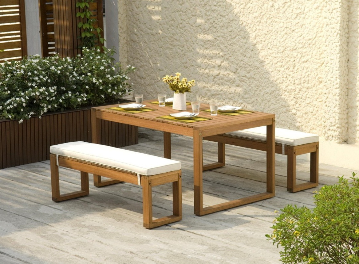 Picnic Table Bench Cushions Home Design Ideas