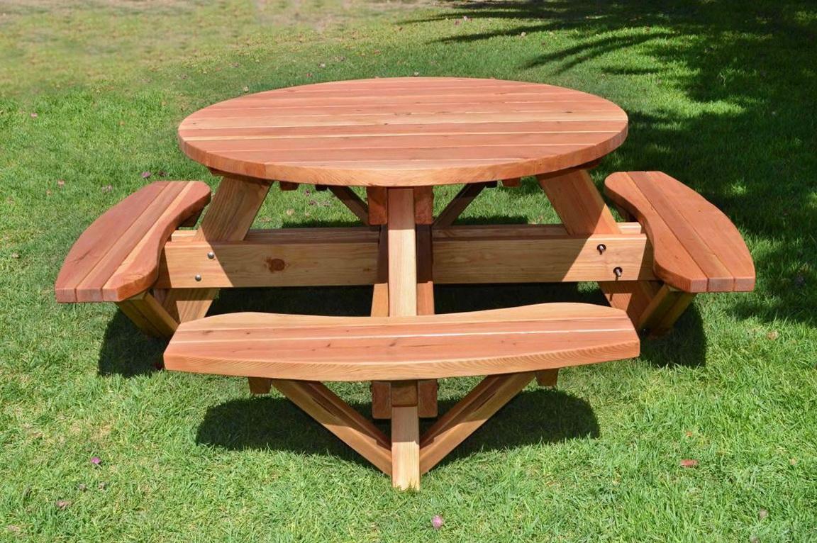 Picnic Table Bench Design