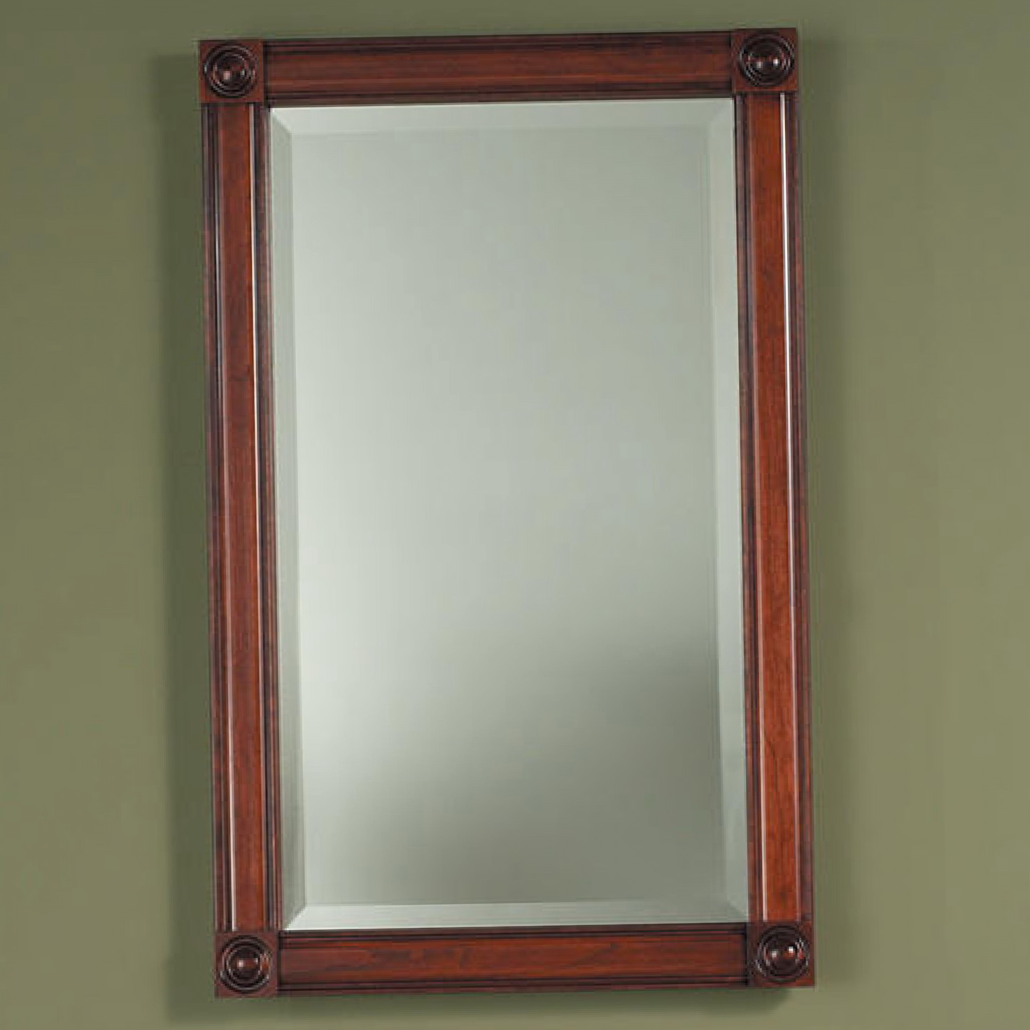 Recessed Mirrored Medicine Cabinet