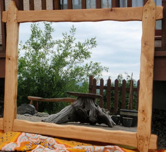 Reclaimed Wood Mirrors Uk
