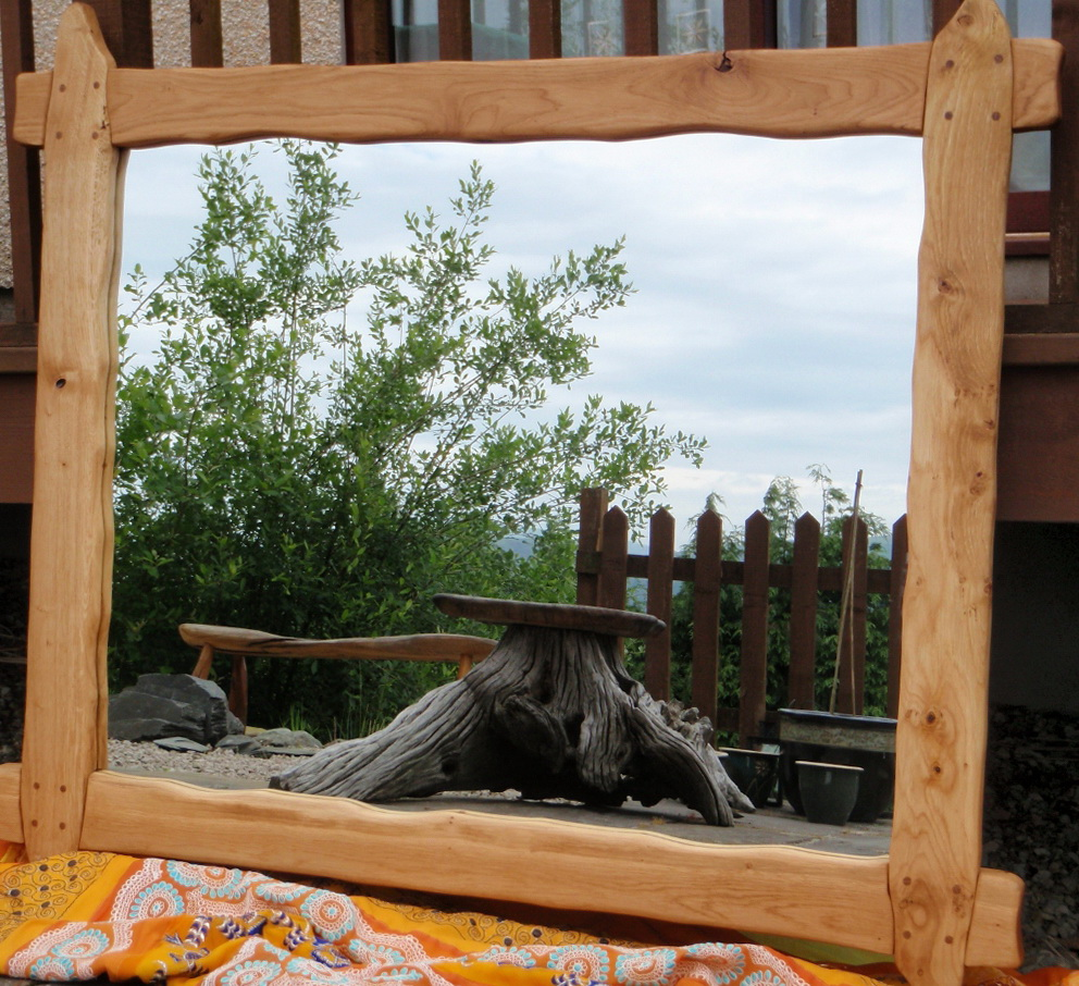 Reclaimed Wood Mirrors Uk